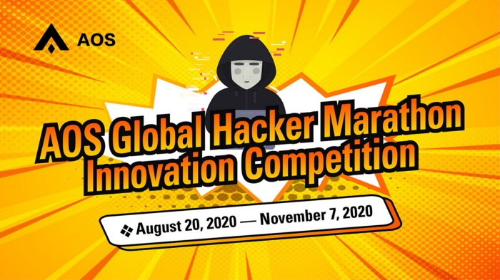 Announcement on AOS Global Hacker Marathon Innovation Competition